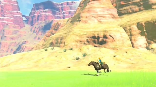 The Legend of Zelda: Breath of the Wild - zwiastun z prezentacji Nintendo Switch