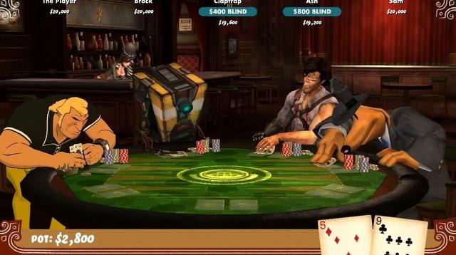 Poker night trailers