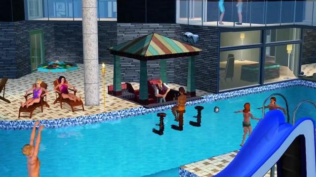 The Sims 3: Rajska wyspa - film prezentujący możliwości rozgrywki