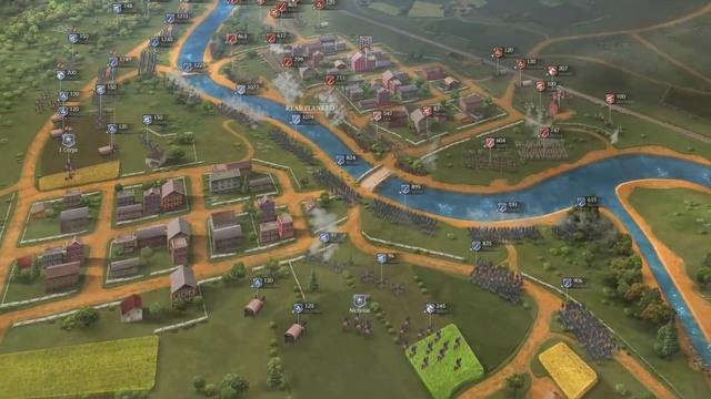Ultimate General: Civil War - zwiastun #1