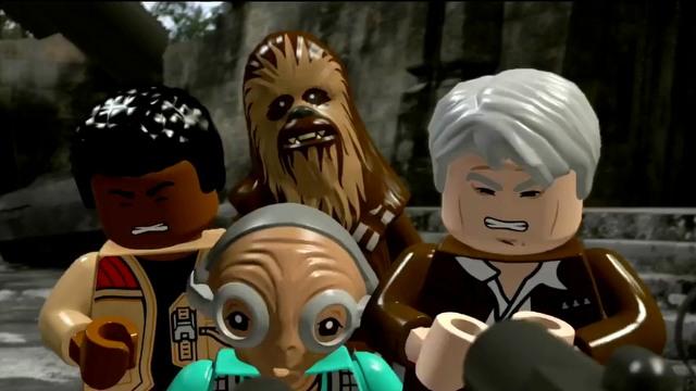Lego Star Wars The Force Awakens E3 2016 Trailer Movie