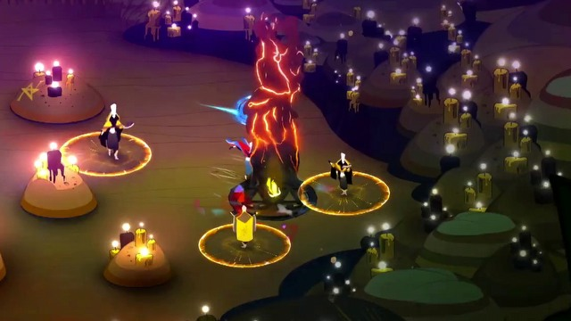 Pyre trailer featuring elements of gameplay, presented during E3 2016.