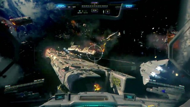 Call of duty infinite warfare e3 2016 ship assault trailer movie - Infinite warfare ship assault ...
