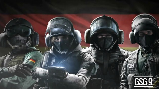 Tom Clancy's Rainbow Six: Siege jednostka GSG 9 (PL)