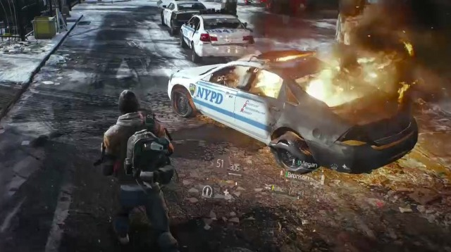 Tom Clancy's The Division E3 2013 - gameplay
