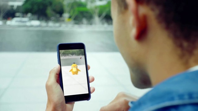 Pokemon GO – get up and go!