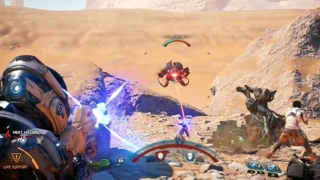 Mass Effect: Andromeda - walka i umiejętności specjalne