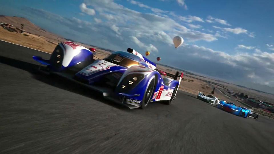 Gran Turismo Sport opening