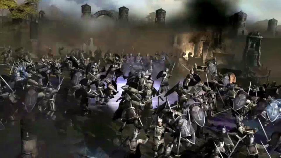 W�adca Pier�cieni: Bitwa o �r�dziemie II � Kr�l Nazguli zwiastun