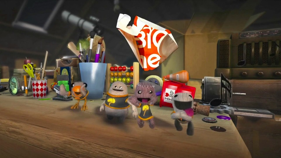 LittleBigPlanet 3 launch trailer