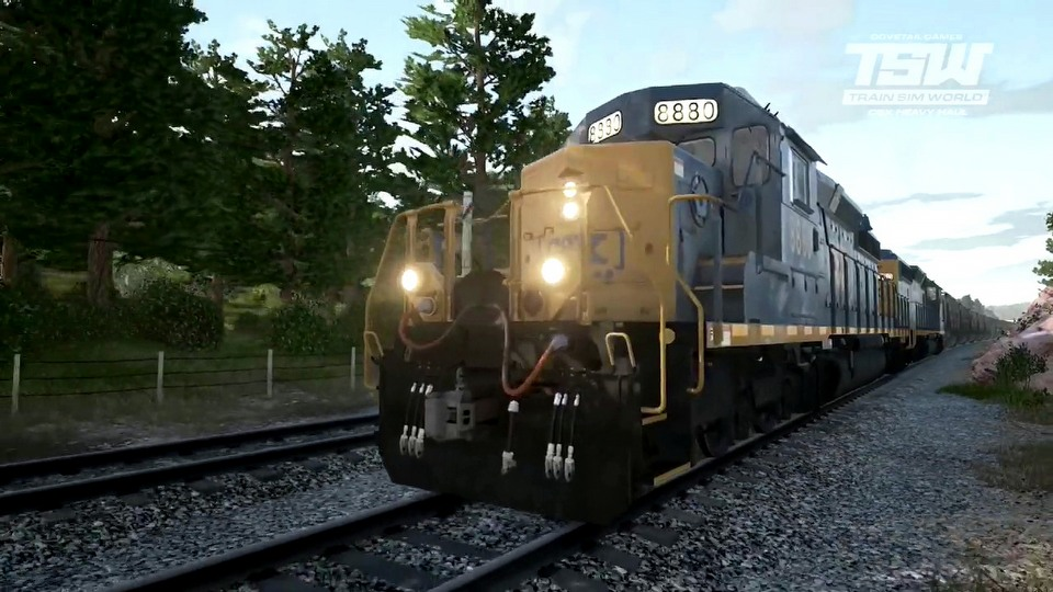 Train Sim World: CSX Heavy Haul launch trailer