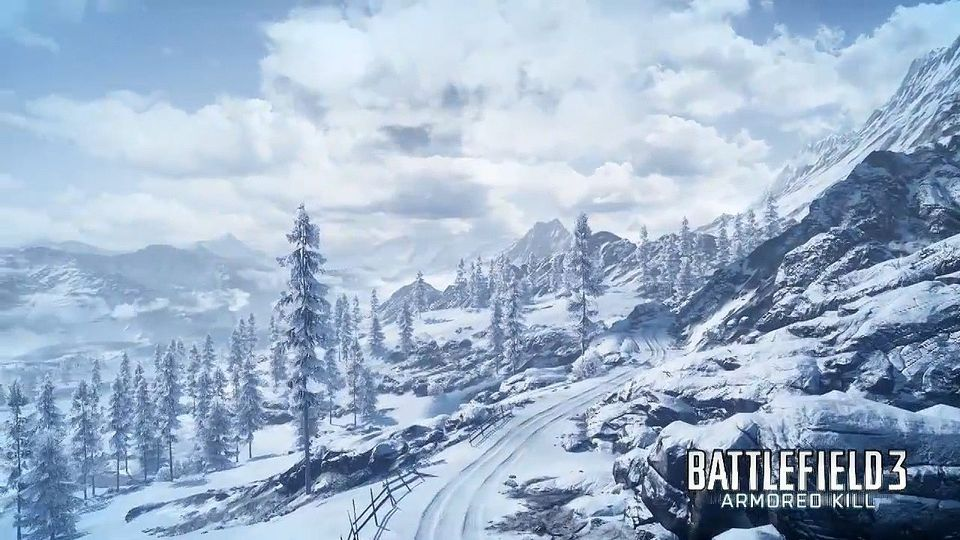 Battlefield 3: Armored Kill Alborz Mountain