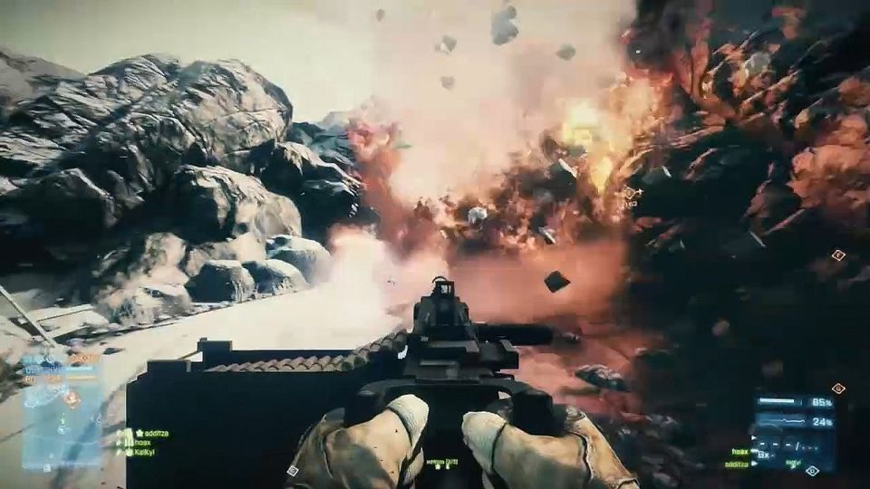 Battlefield 3: Armored Kill gameplay (PL)