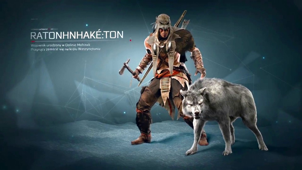 Assassin's Creed III Ratonhnhak Ton trailer