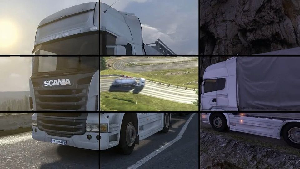 Scania Truck Driving Simulator trailer #1