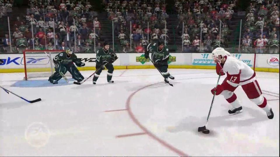 NHL 08 goalie mode