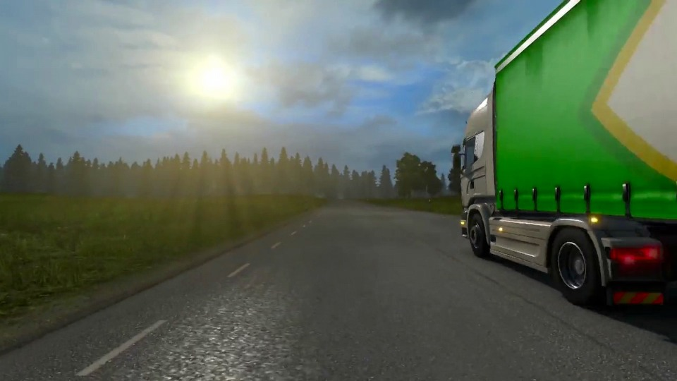 Euro Truck Simulator 2: Scandinavian Expansion trailer