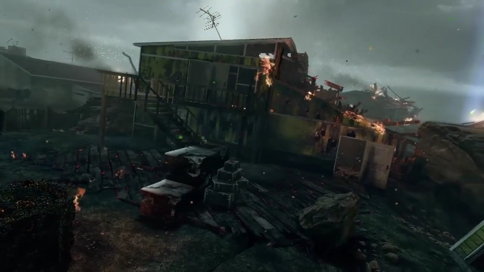 Call of Duty: Black Ops II NukeTown Zombie trailer
