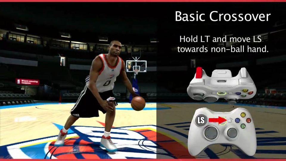 NBA 2K12 Controls