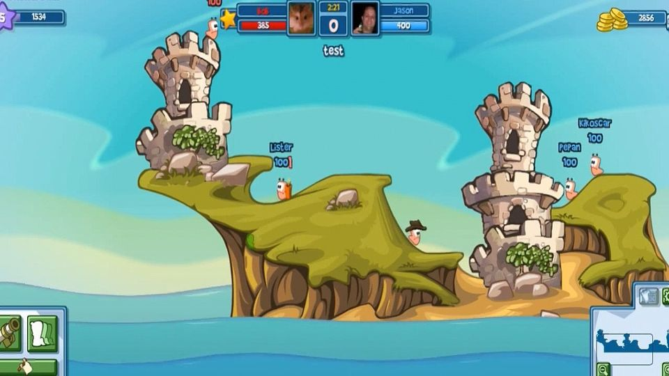 Worms Closed Beta