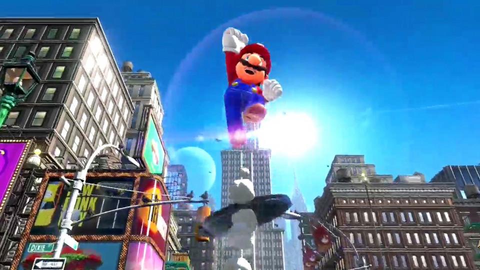 Super Mario Odyssey trailer #1