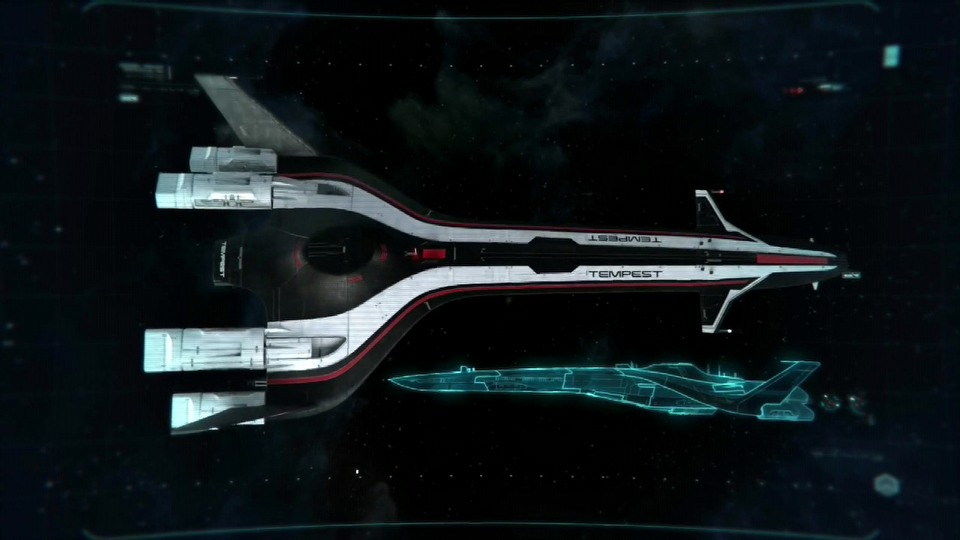 Mass Effect: Andromeda Andromeda Initiative - Tempest and Nomad Briefing