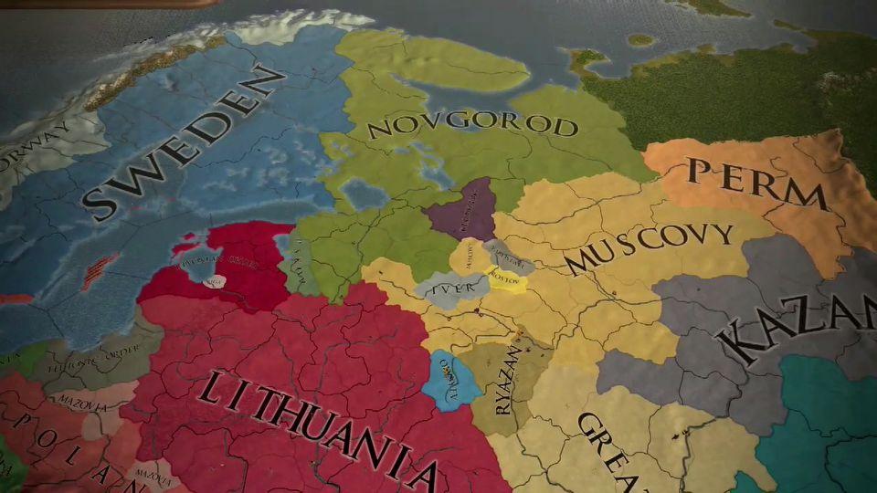 Europa Universalis IV: Third Rome launch trailer