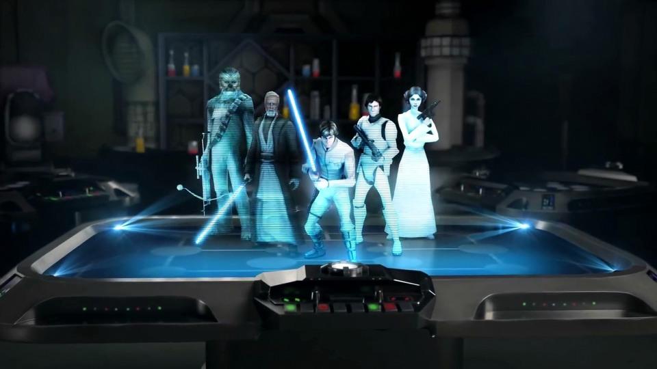 Star Wars: Galaxy of Heroes trailer