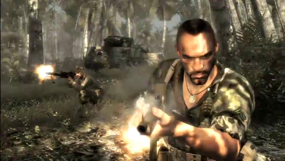Call of Duty: World at War launch movie
