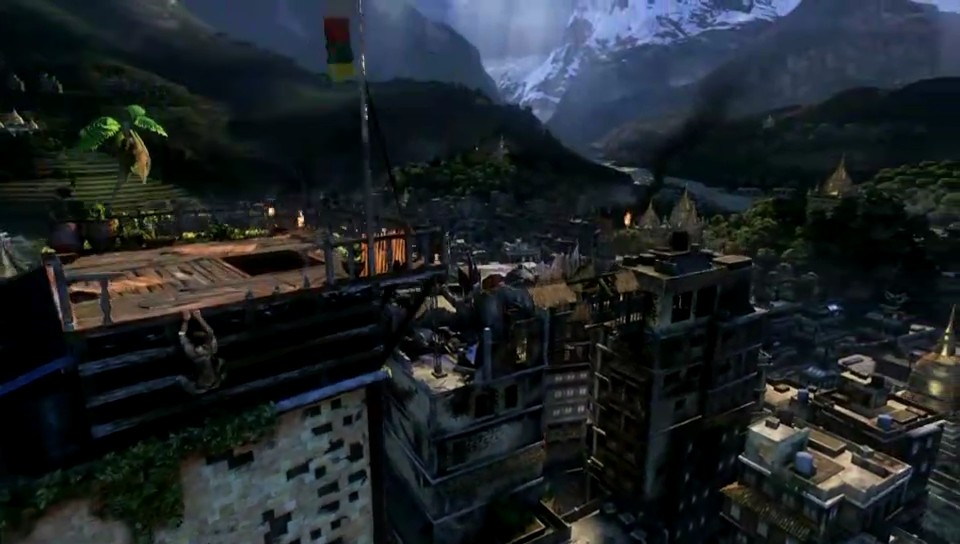 Uncharted 2: Among Thieves E3 2009 - gameplay