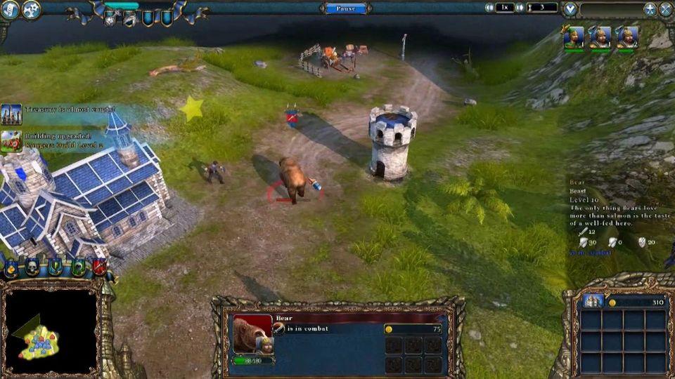 Majesty 2: The Fantasy Kingdom Sim gameplay