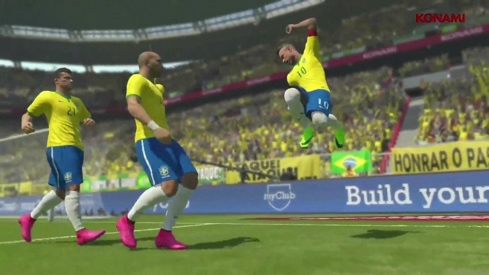 Pro Evolution Soccer 2016 myClub - launch trailer