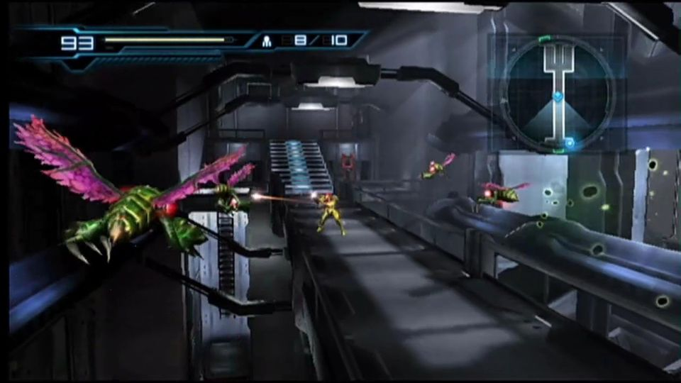 Metroid: Other M gameplay