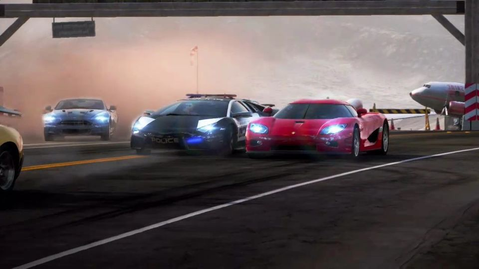 Need For Speed: Hot Pursuit launch movie