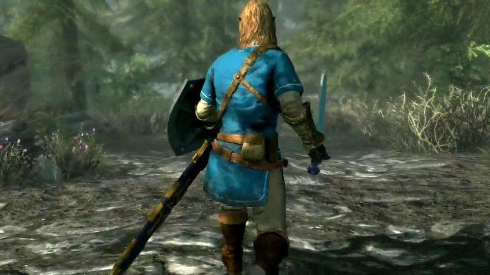 The Elder Scrolls V: Skyrim Special Edition E3 2017 trailer