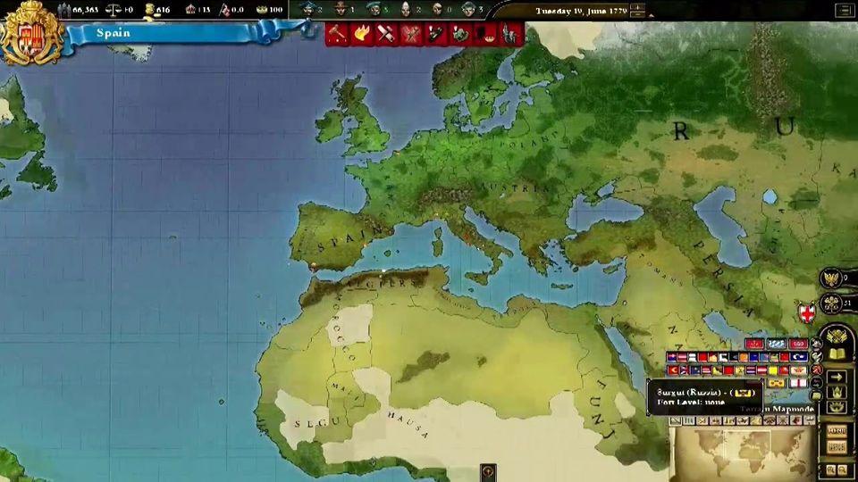 Europa Universalis III Chronicles Launch Trailer