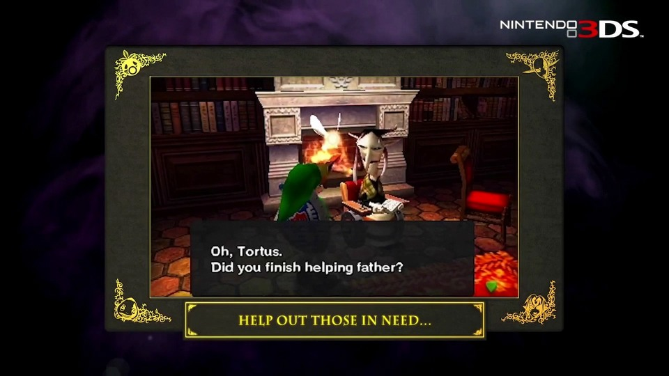 The Legend of Zelda: Majora's Mask gameplay trailer