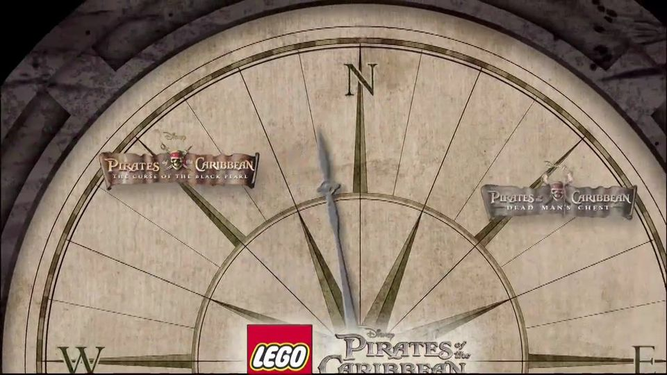 LEGO Piraci z Karaib�w trailer #4