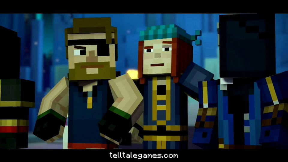 Minecraft: Story Mode - A Telltale Games Series - Season 2 episode #2