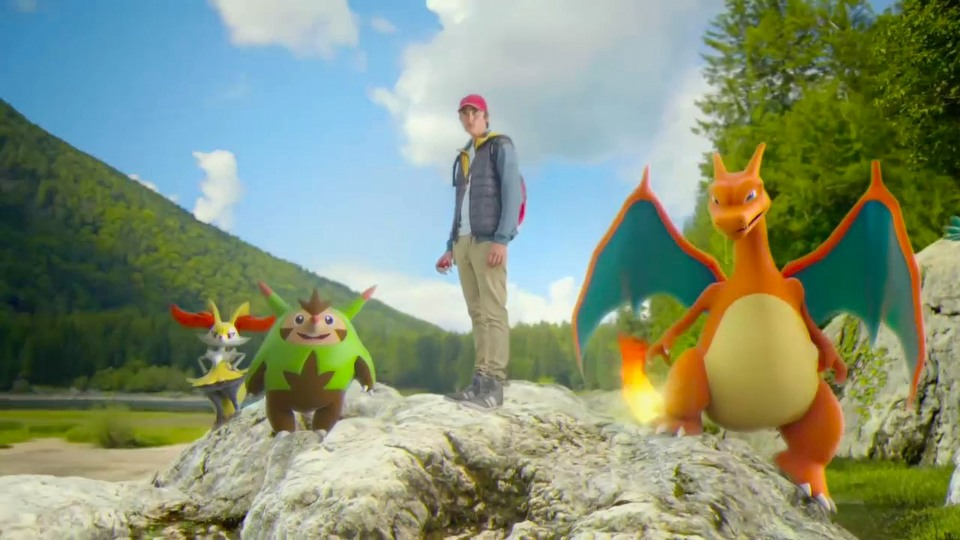 Pokemon X launch trailer