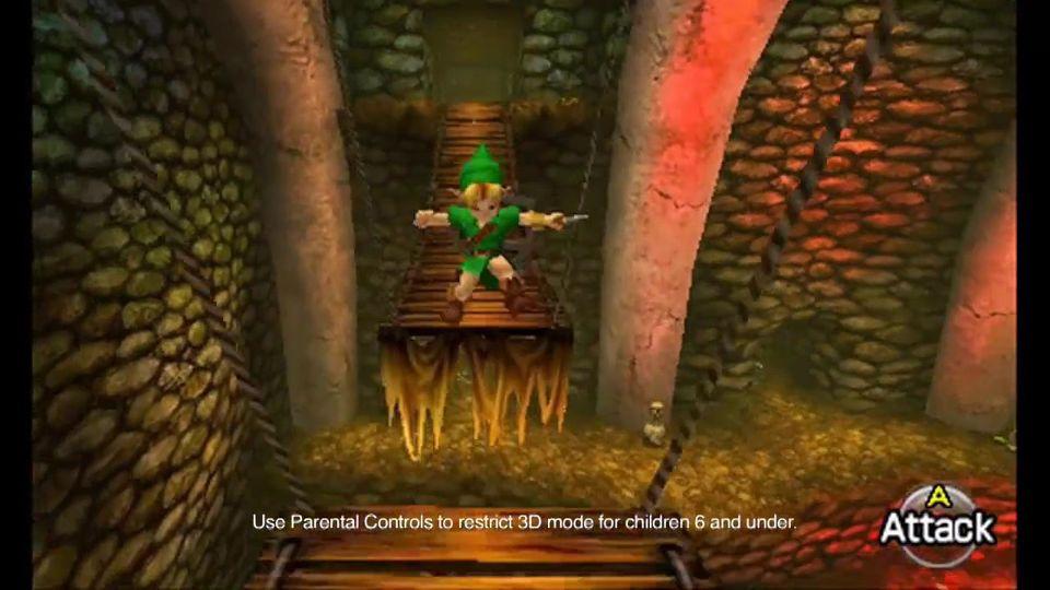 The Legend of Zelda: Ocarina of Time trailer #2