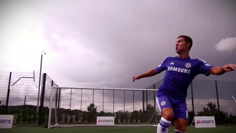 FIFA 15 Eden Hazard skill moves