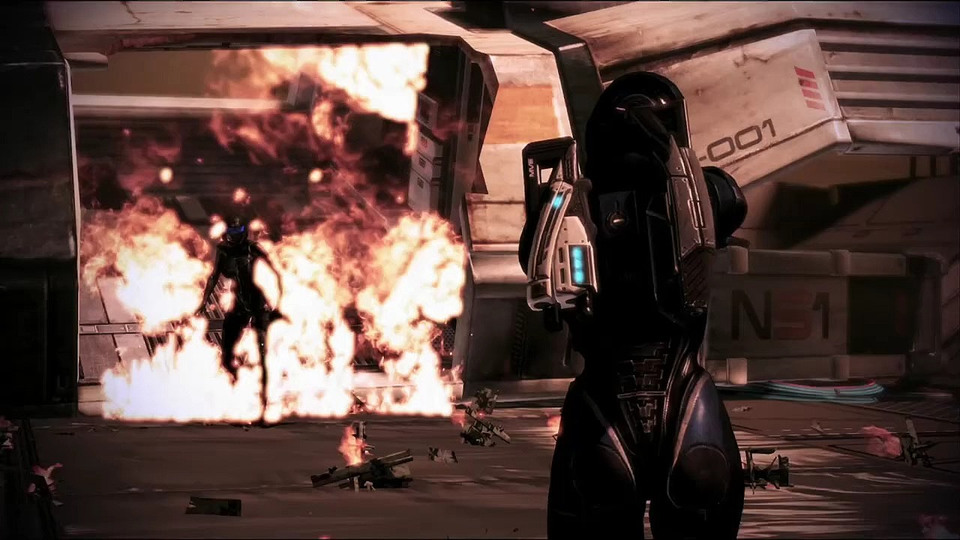 Mass Effect 3 WiiU special edition trailer