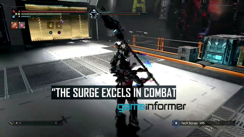 The Surge trailer - Accolades