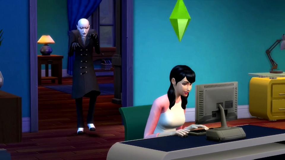 The Sims 4: Vampires Vampier powers