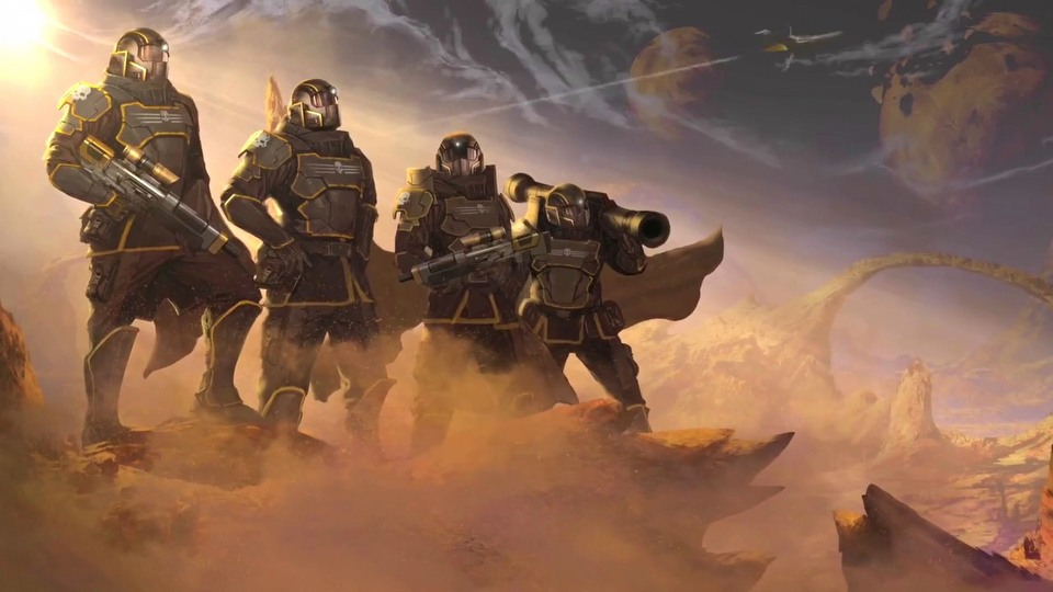 Helldivers Steam version trailer