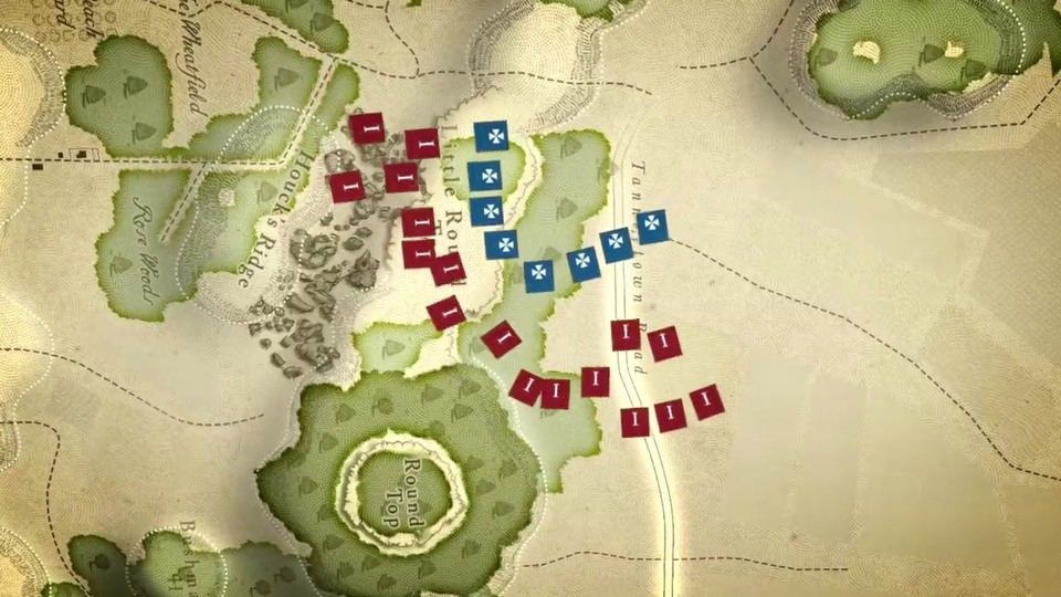 Gettysburg: The Tide Turns teaser trailer #1