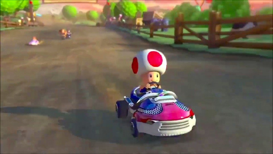 Mario Kart 8 launch trailer