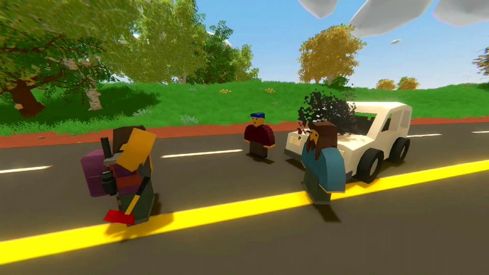 Unturned launch trailer