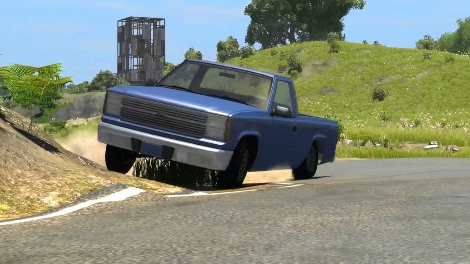 BeamNG.drive Early Access trailer